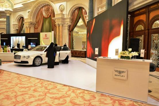 Bentley at AMEX World Luxury Expo Riyadh 2015