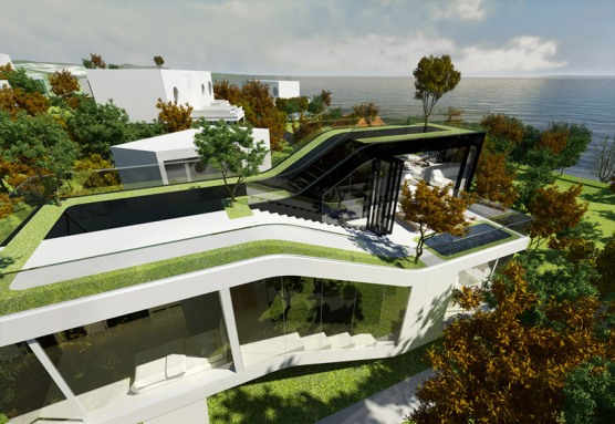 Futuristic-Jeju-Cocoon-House-by-Planning-Korea-7