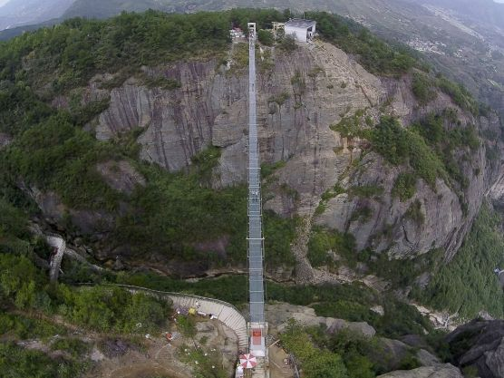 China's Glass Bridge