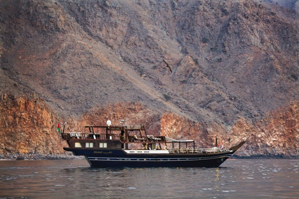 Dhahab - Enjoy your Cruise at Six Senses Zighy Bay, Oman