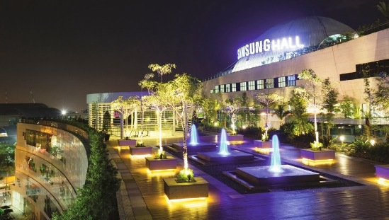 The Samsung Hall at The Sky Park