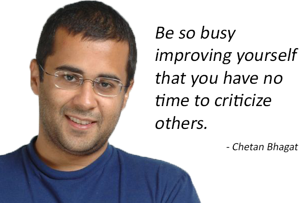 essay on words of wisdom by chetan bhagat There are various chetan bhagat quotes on love on love and relationships that can be found in his books, and the man himself has dished out some words of wisdom on the topic in interviews too so we've put it all together in one place.