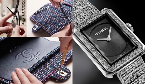 Chanel Boy.Friend Tweed