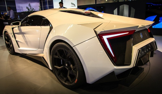 The first Arabian supercar – Lykan Hypersport | Richieast