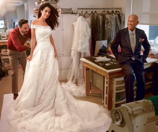 Amal Clooney wedding dress